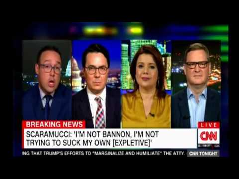 Don Lemon panel discussion Scaramucci calls Reince Priebus is a f******g paronoid schizopherenic