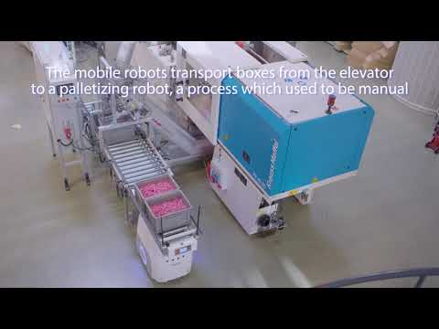 Customization and flexibility with high-speed manufacturing line and mobile robots at TePe