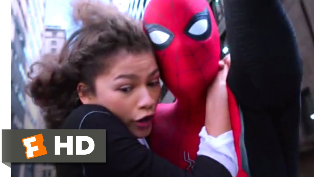 Download Spider-Man: Far From Home (2019) - Don't Text and Swing! Scene (10/10)   Movieclips