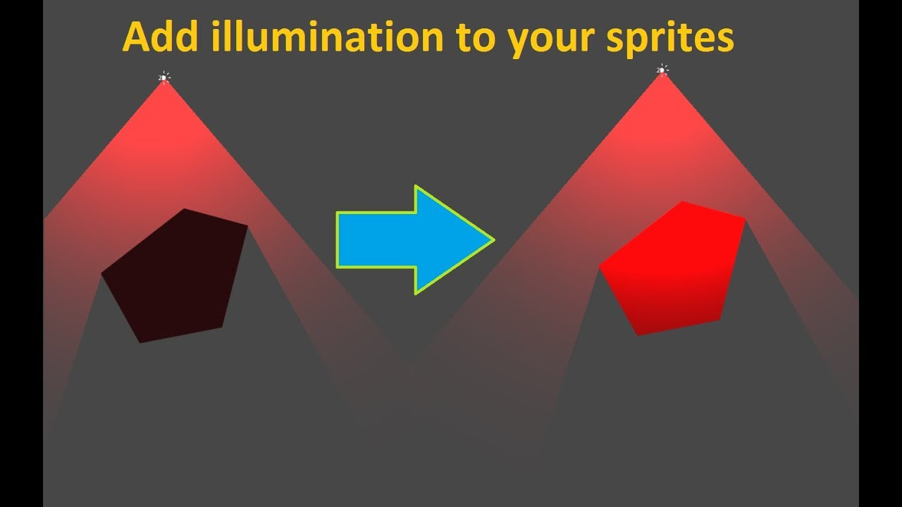 2DDL - Add illumination to Casters and sprites