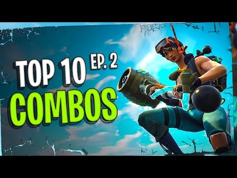 My Top 10 Fortnite Cosmetic Combinations | May | Ep. 2