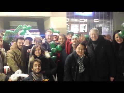 EM Lyon Students at Celtics Game