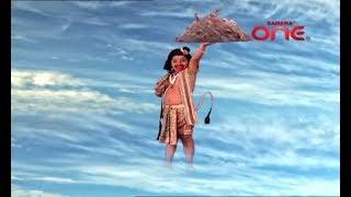 Baal Hanuman brining the Sanjeevani Booti in जय जय जय बजरंगबली - Jai Jai Jai Bajrangbali HD
