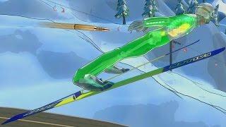 SNAJPER VS SKOCZEK NARCIARSKI | Ski Sniper [PL]