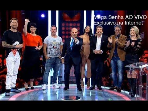 Mega Senha especial com apresentadores da RedeTV!