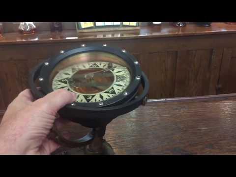 Ocean vessel compass 1800's