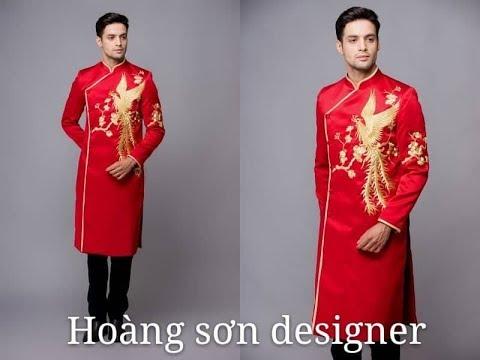 dạy cắt may cơ bản: hướng dẫn cách cắt áo dài nam|áo dài nam, may áo dài nam,hoàng sơn designer