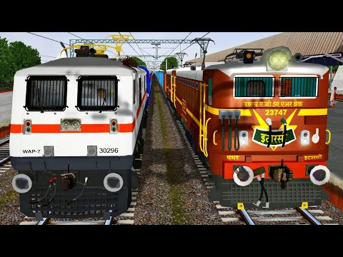 Pune - Howrah AZAD HIND EXPRESS | Rail India - MSTS Open Rails Journey Part 1