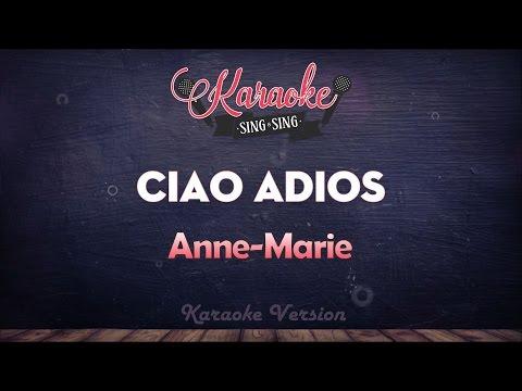 Anne-Marie - Ciao Adios | SING SING KARAOKE