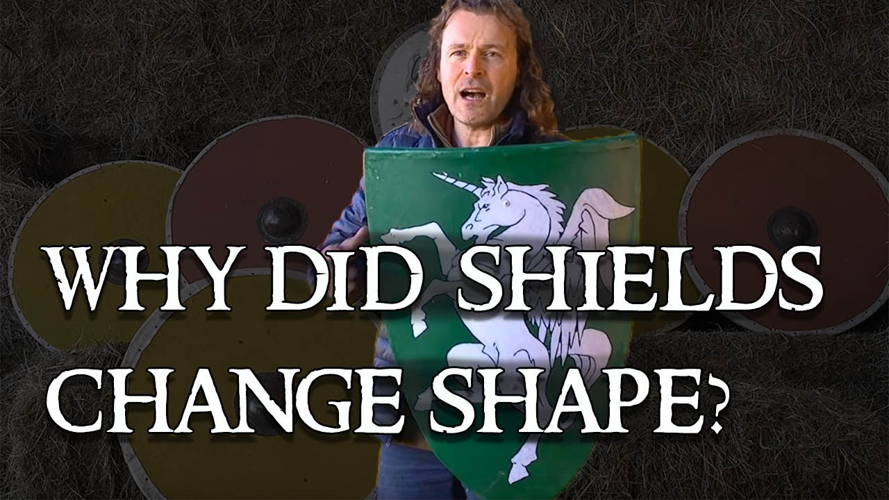 Download Medieval shields: Why are shields different shapes and sizes?