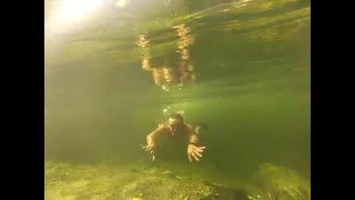 Река Урик. Порог Чертики - купание.(Купание за порогом Чертики www.baikalrafting.com., 2016-01-05T08:22:15.000Z)