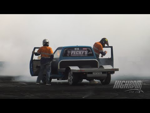 CNTSFKD Catches On Fire - Territory Day Burnout Extravaganza
