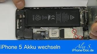 IPhone 5 Akku wechseln, austauschen, reparieren in 6 min auf Deutsch