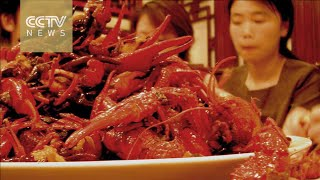Development of crayfish delivery in China  -  20160219