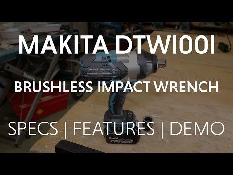 Видео обзор: Гайковерт MAKITA DTW 1001 Z (RC)