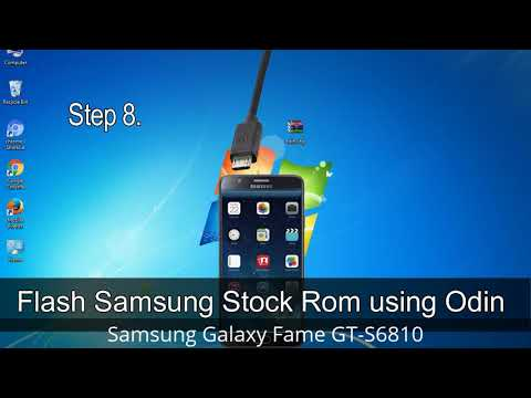 How To Samsung Galaxy Fame GT-S6810 Firmware Update (Fix ROM)
