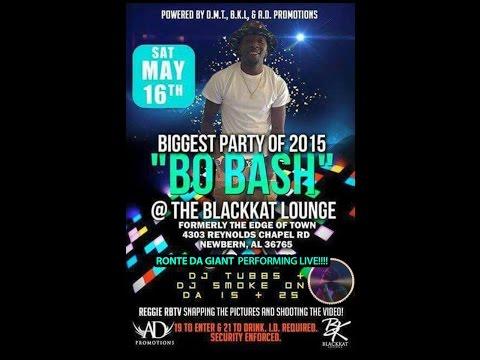 """""""BO BASH"""" @BLACKKAT LOUNGE x DJ TUBBS x DJ SMOKE x LIVE PERFORMANCE BY @Ronte_Da_Giant"""