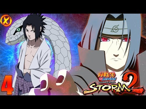 САСКЕ VS ИТАЧИ 🔥 NARUTO: Ultimate Ninja STORM 2