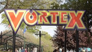 vortex review carowinds b stand up coaster hd 60fps