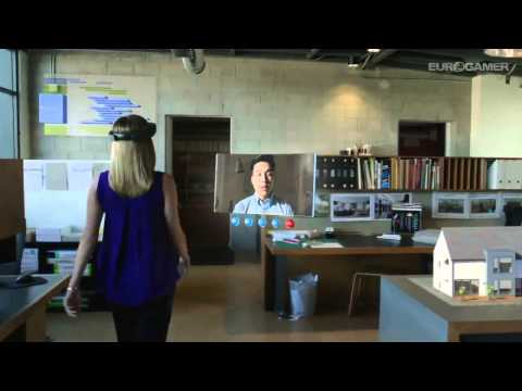 Microsoft HoloLens - Trailer shows new glass holograms tech - Windows 10