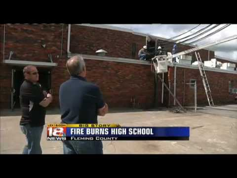 Fleming County High School Suffers Electrical Fire
