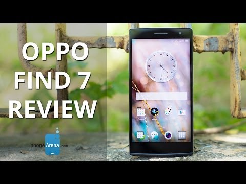 Oppo Find 7 hands-on | Engadget from YouTube · Duration:  2 minutes 19 seconds