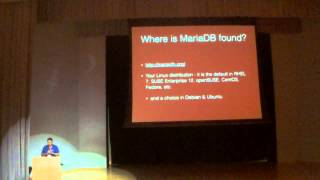MariaDB - State of the Base - FOSSASIA Summit 2015