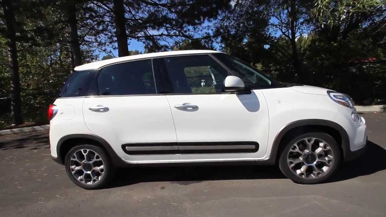 ez006559 2014 fiat 500l trekking raridon 39 s fiat of kirkland white youtube. Black Bedroom Furniture Sets. Home Design Ideas