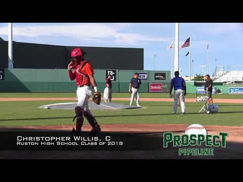 Christopher Willis prospect video, C, Ruston High School Class of 2018