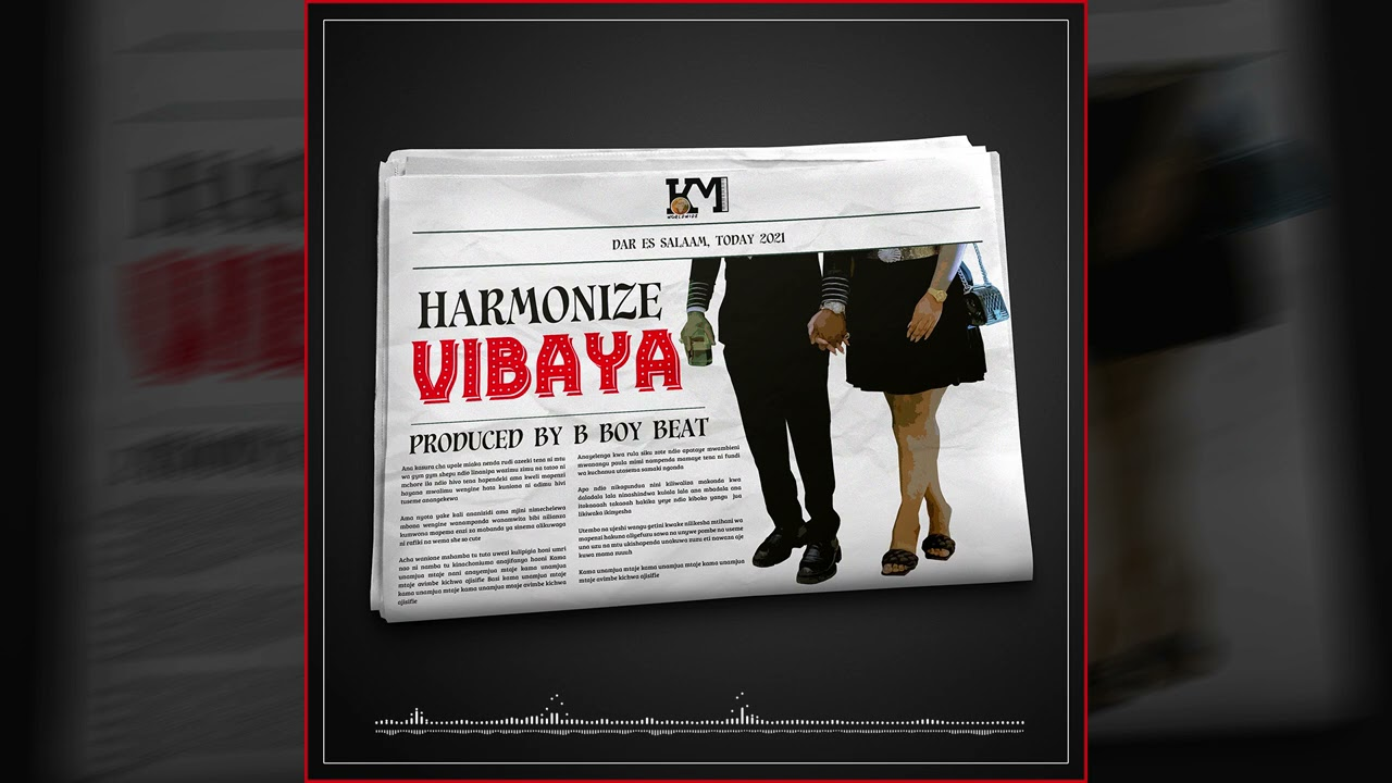 Download Harmonize - Vibaya (Official Audio)