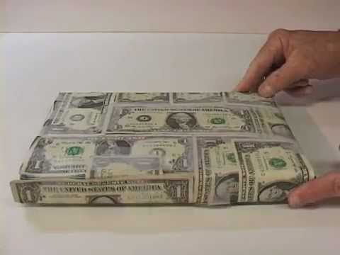 Best Gift Wrap Ever Real Money Youtube