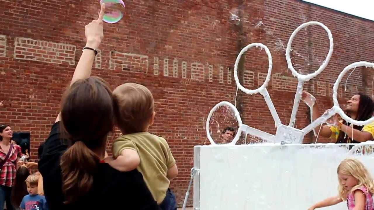 bubbles making machine