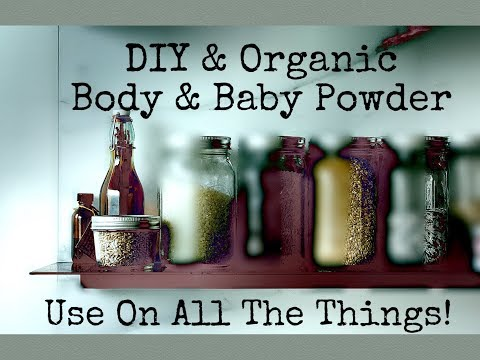 Body and Baby Powder {DIY, Non-Toxic, And Cheap}