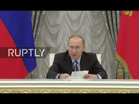 LIVE: Putin to chair fourth meeting of Russia's Council for Strategic Development