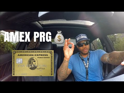 American Express Premier Rewards Gold Card Unboxing!