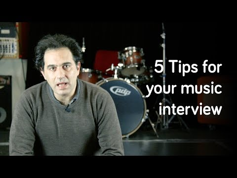 Tips For A Music Application Interview