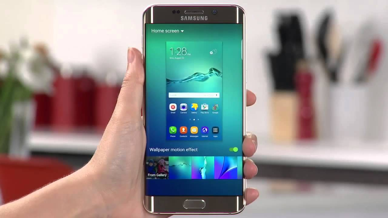 Galaxy S6 Edge Plus How To Video Changing Wallpaper Youtube