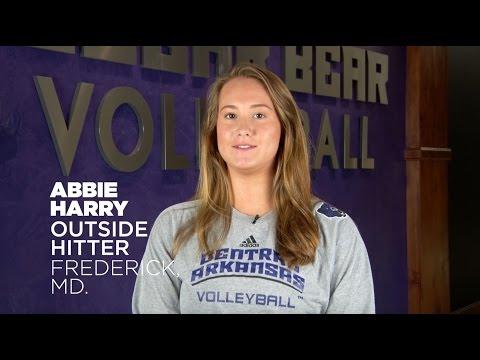 Volleyball: Meet Abbie Harry