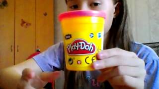 Как сделать из пластилина  Play-Doh Бантик и, Медвежонка!!!