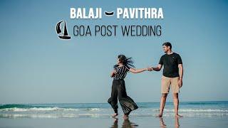 Goa Post Wedding | Balaji Pavithra | Shades of kadhal