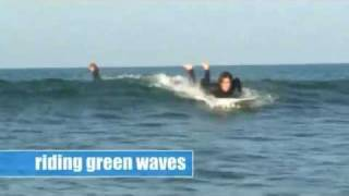 How To Surf -  Riding Green Waves