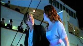 Titanic deleted scene: You re going overboard!