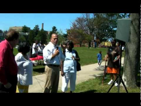 Dan Onorato visits the Olney Rec Center