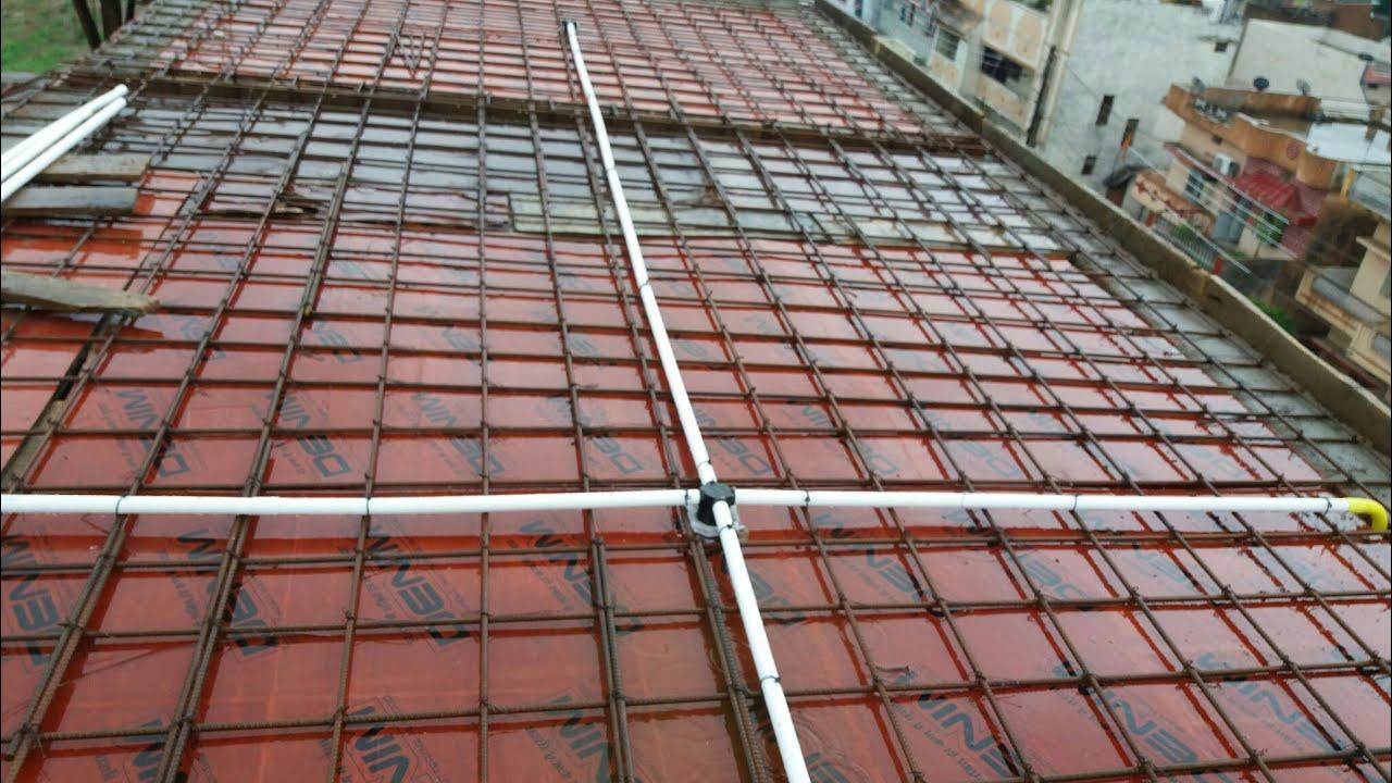 electrical rcc ceiling pipe !! house wiring 3 bhk Wiring Cealing Fan