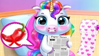 - Fun Newborn Pony Care Kids Game My Baby Unicorn Cute Pet Care Xmas Makeover Games By TutoTOONS