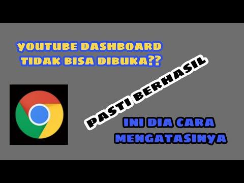 Youtube Dashboard Tidak Bisa Dibuka? ini dia cara mengatasi youtube dashboard tidak bisa dibuka