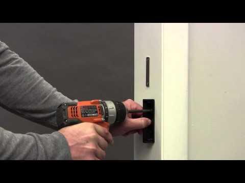 Folding Door Lock Installation (Single door without a closure ...