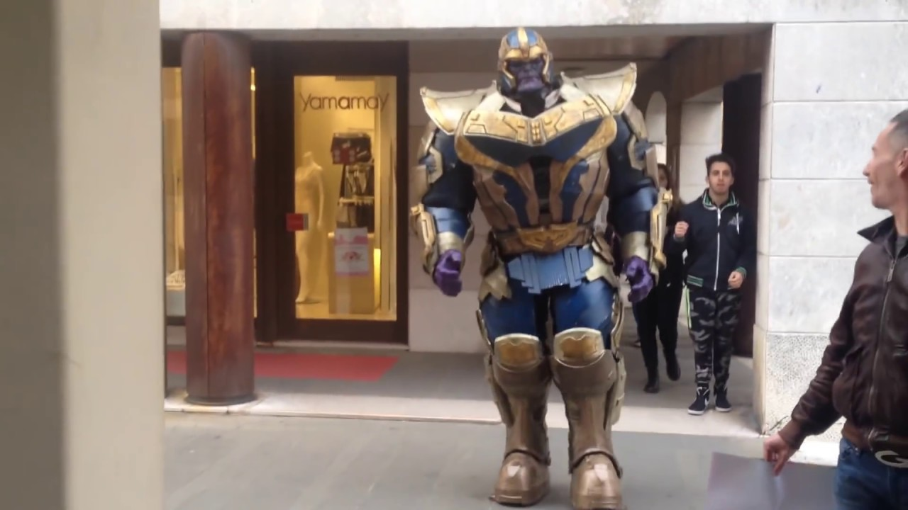 Mad Max 2 2017 >> Thanos Mad Titan by Prizmatec Cosplay - YouTube