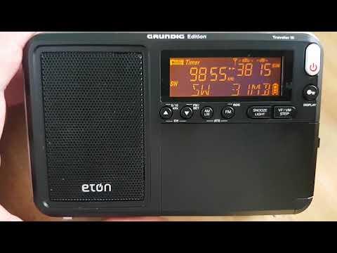 Radio Japan french via Madagascar received on Eton Traveller III portable receiver