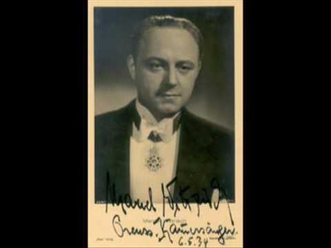 Marcel Wittrisch and Margarete Teschemacher THE HUGUENOTS rec 1932